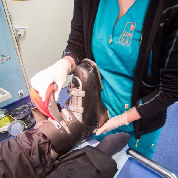 patient-accident-ski-unite-medicale-vallee-de-larve